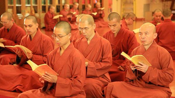 福智僧團研閱經論