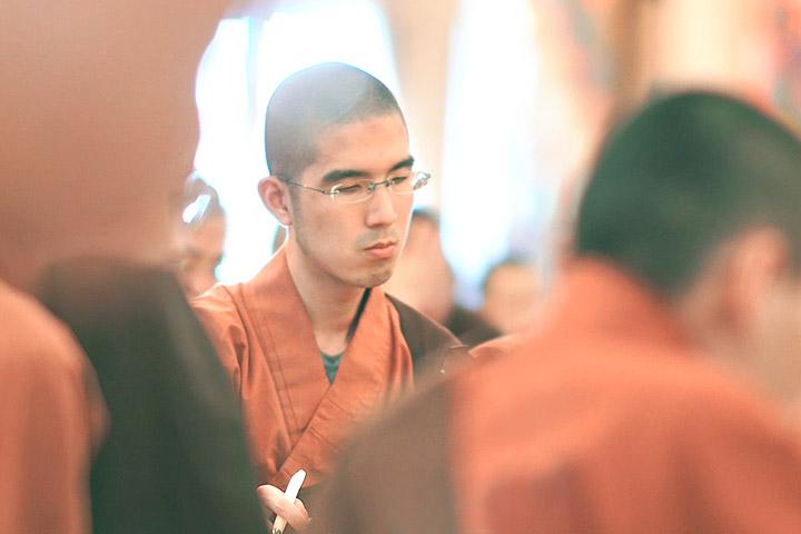福智僧團依律結夏安居,師長親赴傳授《金鬘論》