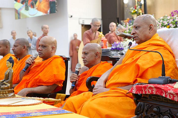熱烈歡迎!斯里蘭卡僧王訪福智湖山分院