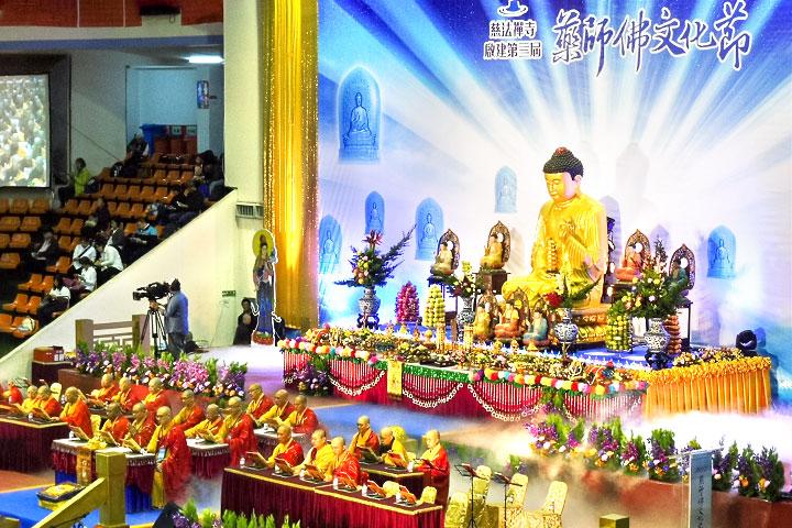 福智僧團副住持如得法師,受邀參加「藥師佛文化節」