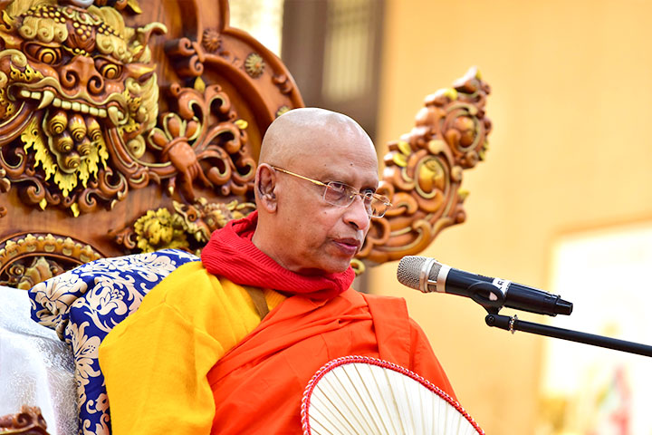 斯里蘭卡副僧王開示